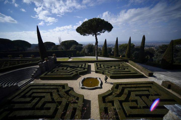 Grădinile de la Castel Gandolfo se deschid publicului