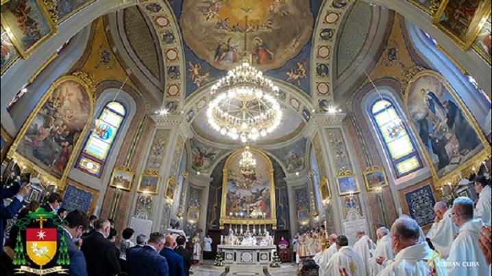 """Iaşi: Consacrarea altarului şi redeschiderea Catedralei """"Adormirea Maicii Domnului"""""""