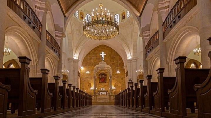 """O rază de speranță în Alep. Renaște Catedrala """"Sfântul Ilie"""""""