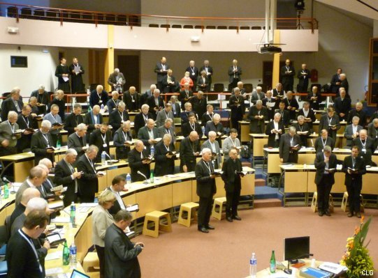 Preasfinția Sa Claudiu la lucrările Conferinței Episcopale Franceze