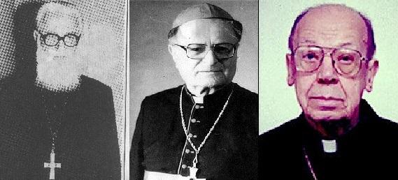 Cei trei episcopi ai exilului