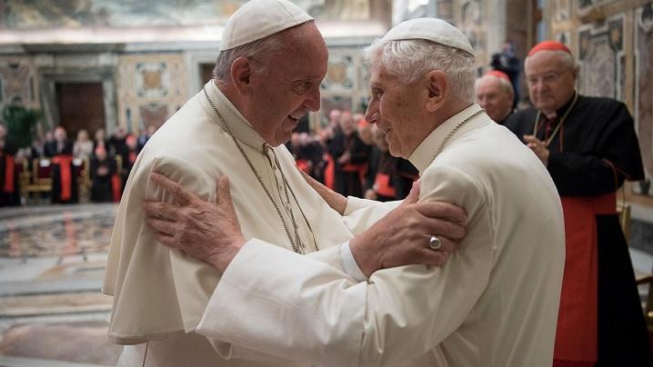 După trei ani de tăcere, Benedict al XVI-lea a vorbit