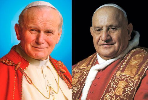 Ioan al XXIII-lea şi Ioan Paul al II-lea. Doi papi, o unică sfinţenie