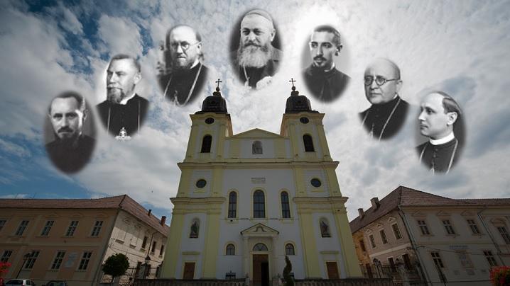Troparul și condacul care se vor cânta la Blaj cu ocazia beatificării celor 7 episcopi martiri