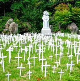 "Papa Francisc va vizita ""cimitirul copiilor avortați"""