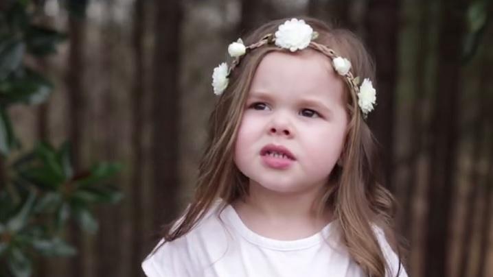 GHETSIMANI. Claire Ryann, la numai 3 ani