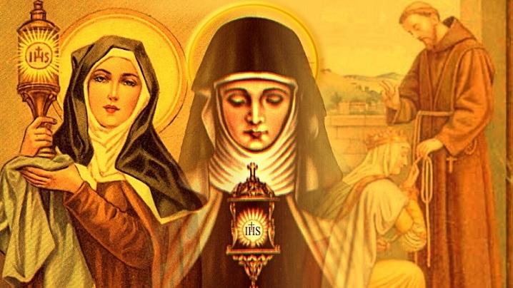 Sfânta Clara de Assisi şi Clarisele