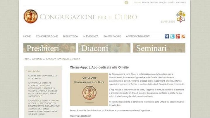 «Clerus App»: aplicație digitală pentru omilii lansată de Congregația pentru cler și Secretariatul pentru comunicare