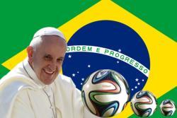 Mesajul Sfântului Părinte Francisc cu ocazia deschiderii Campionatului Mondial de Fotbal Brazilia 2014