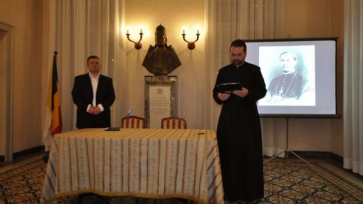 FOTO – Conferinţă la Colegiul Pio Romeno: Iuliu Hossu în arhivele securităţii