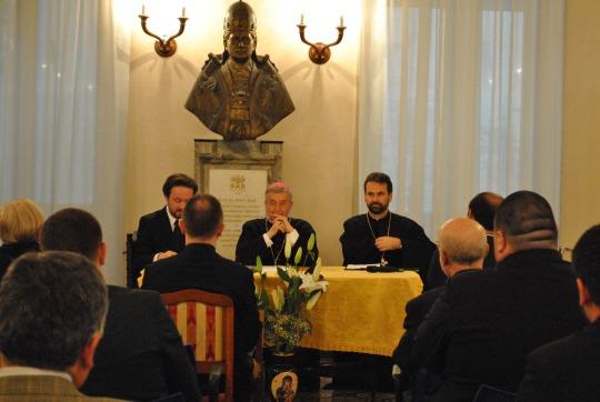 """Două evenimente majore dedicate Anului Credinței, la Colegiul Pontifical """"Pio Romeno"""""""