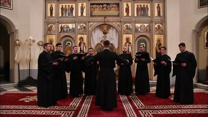 Concertul de colinde al studenților Colegiului Pontifical Pio Romeno, 2018