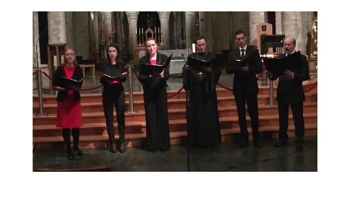 ANUNȚ: Concert de colinde românești în Catedrala din Bruxelles