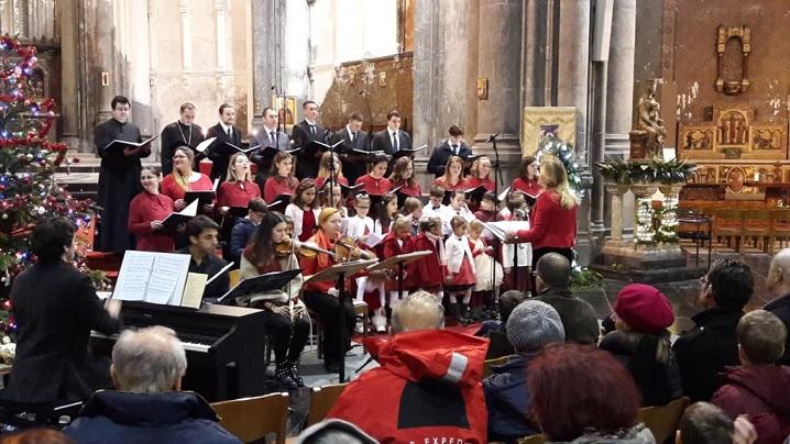 La Betleem colo-n jos: Corala grco-catolică Bruxelles