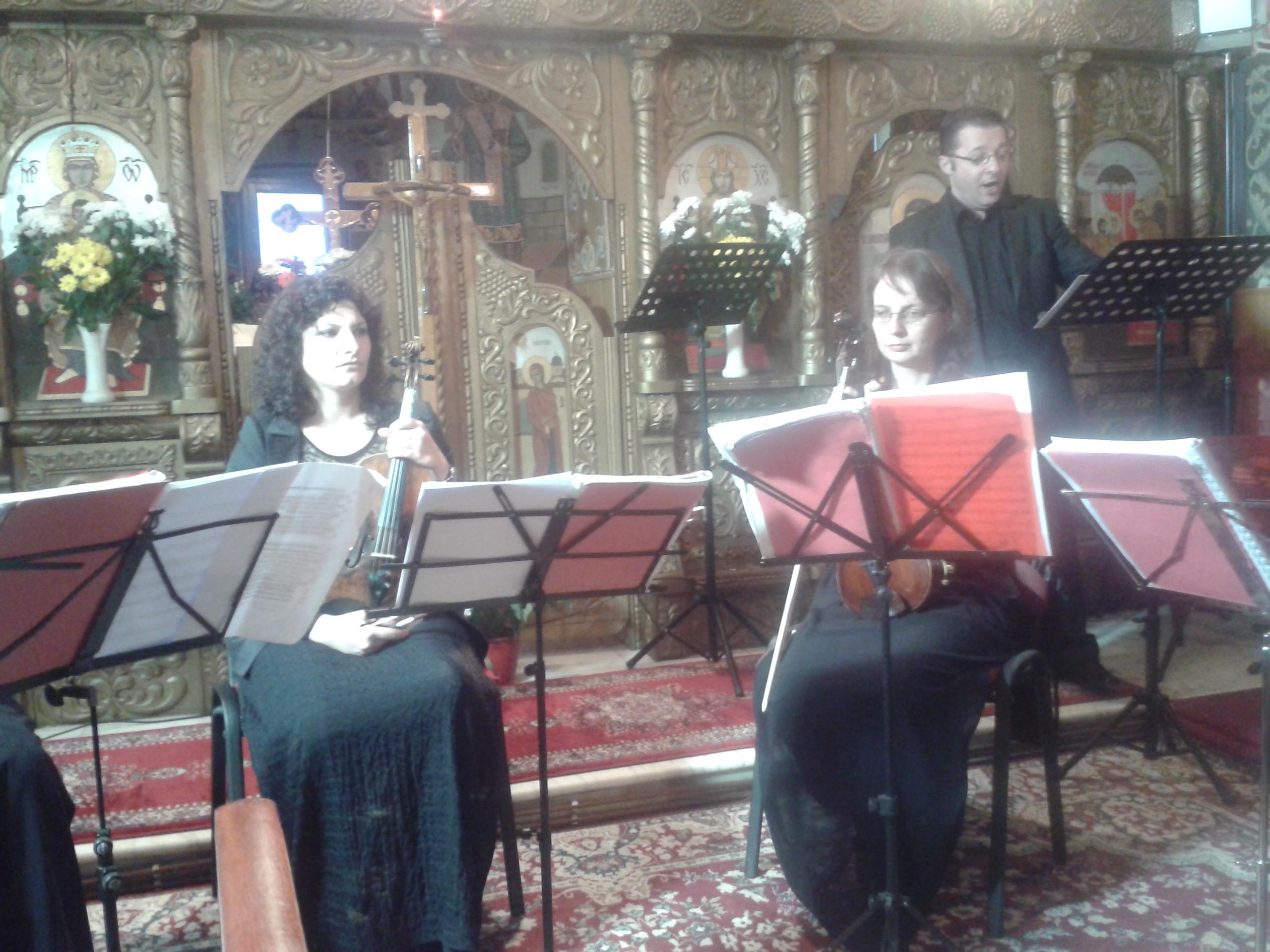 Concert de Sfintele Paști, în Biserica Greco-Catolică din Teiuș