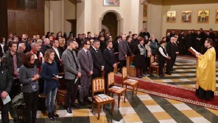 FOTO: Concert de colinde la Colegiului Pontifical Pio Romeno din Roma