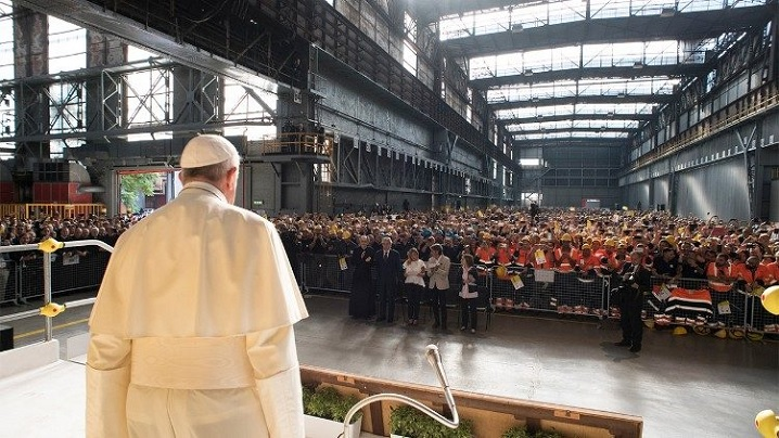 Mesajul papei Francisc la conferința Organizației Mondiale a Muncii