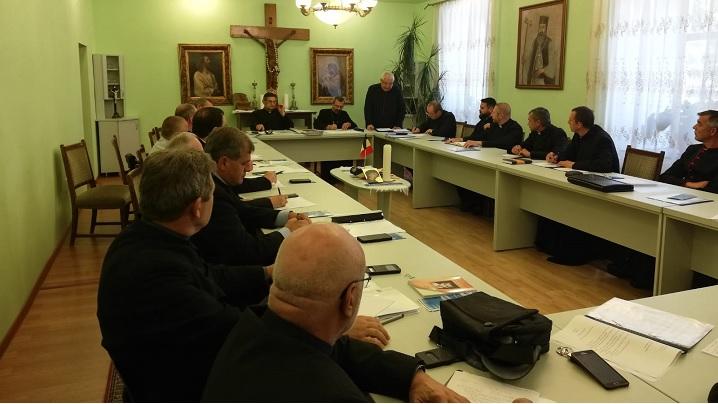 Foto: Întâlnirea Consiliului preoțesc al Arhieparhiei de Alba Iulia și Făgăraș