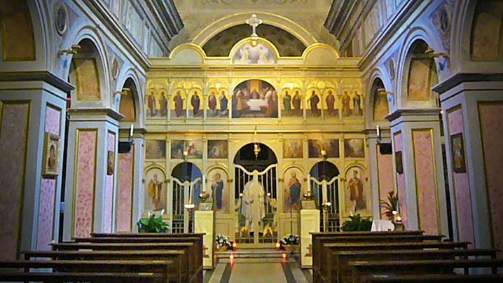 """Numiri la biserica """"San Salvatore alle Coppelle"""" din Roma"""