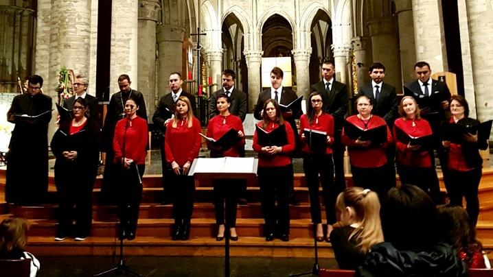 O ce veste minunată: Corala comunității greco-catolice Bruxelles