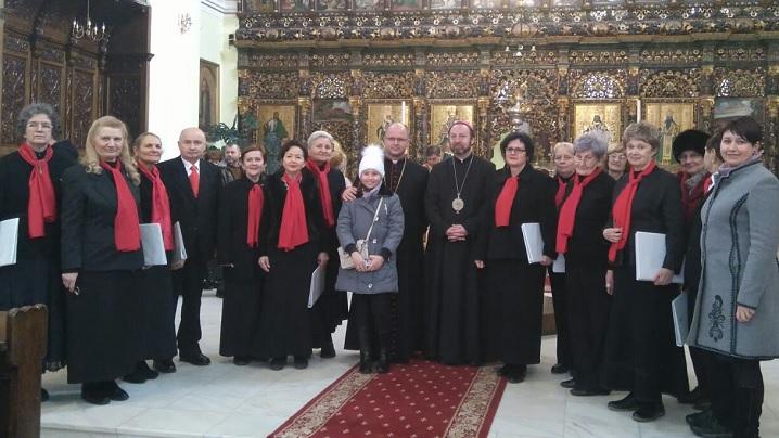 Corul Catolica a concertat în Catedrala din Blaj