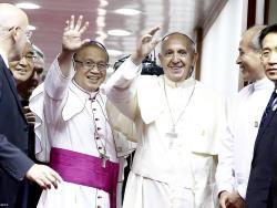 Vizita Papei în R. Coreea. Ceremonia de rămas bun și întoarcerea la Roma