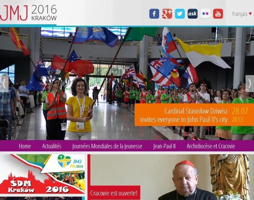 Pagina web a ZMT Cracovia 2016
