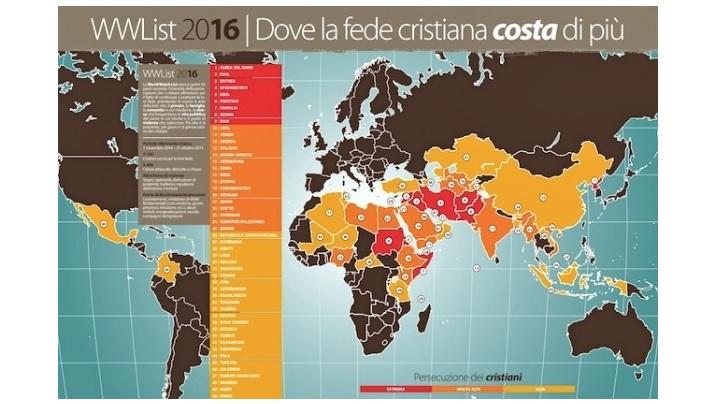 7100 creștini uciși, 2400 biserici distruse, în 2015