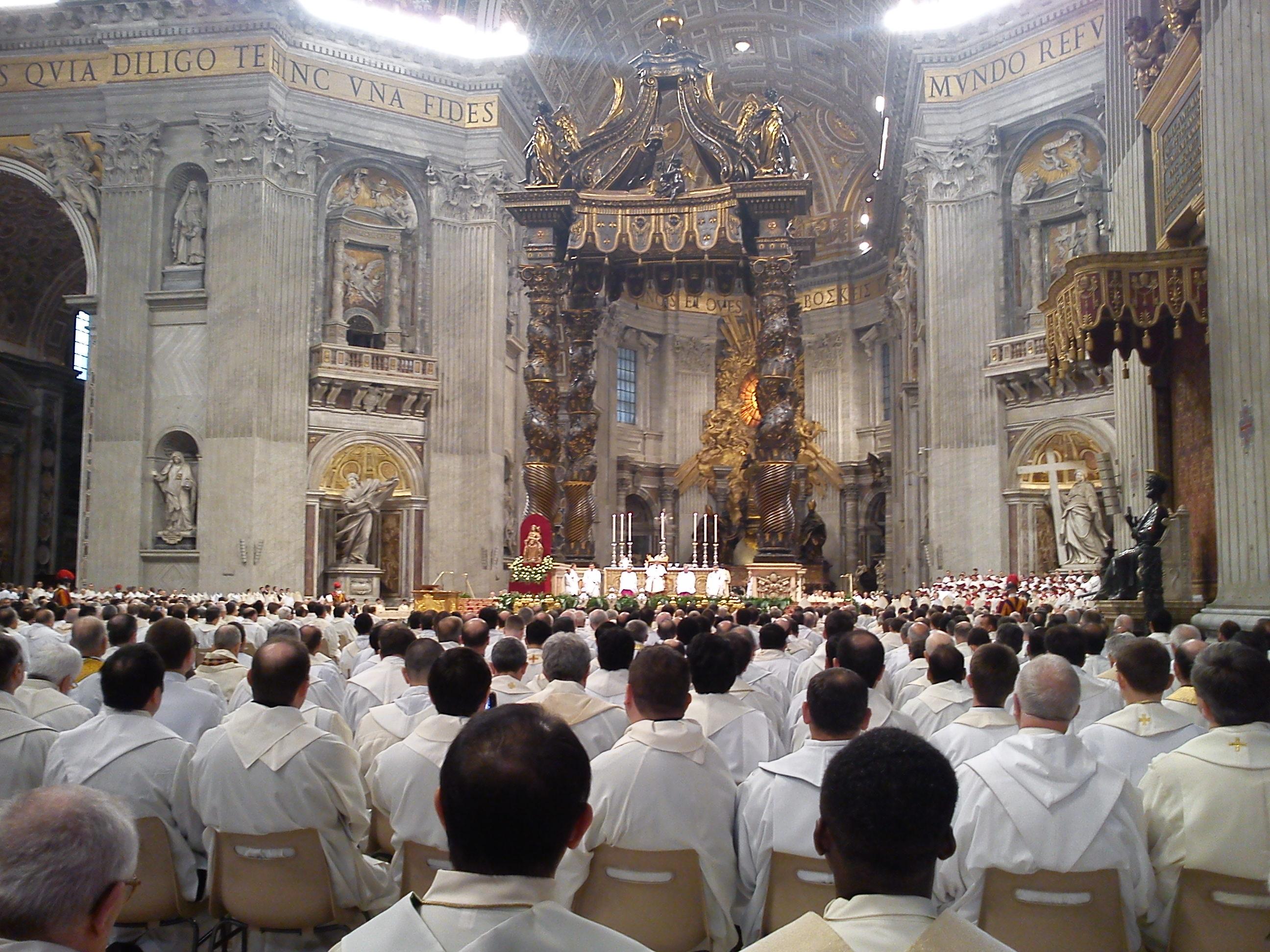 Sfânta Liturghie a Crismei celebrată de Sanctitatea Sa Papa Francisc