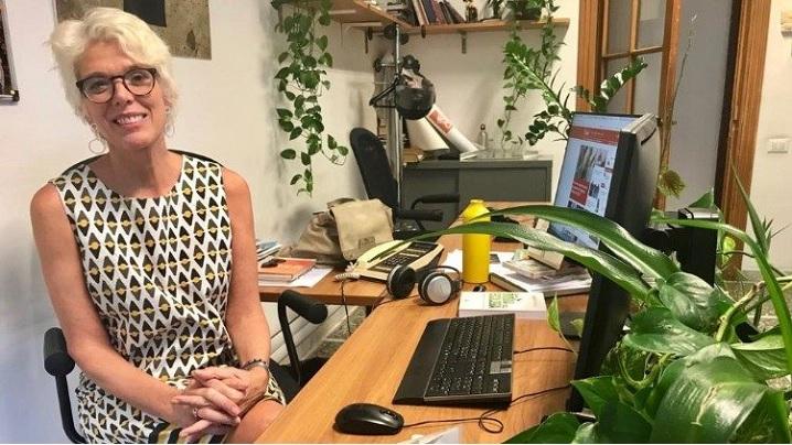 Doamna Cristiane Murray,  vice-director al Sălii de Presă a Sfântului Scaun