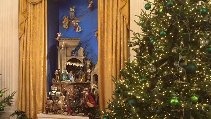VIDEO: Crăciunul se întoarce la Casa Albă