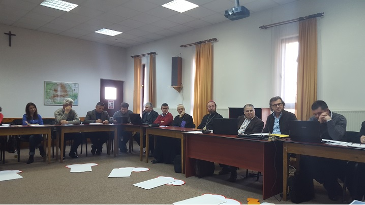 Foto: Curs pentru formarea leadership-ului în structurile eparhiale