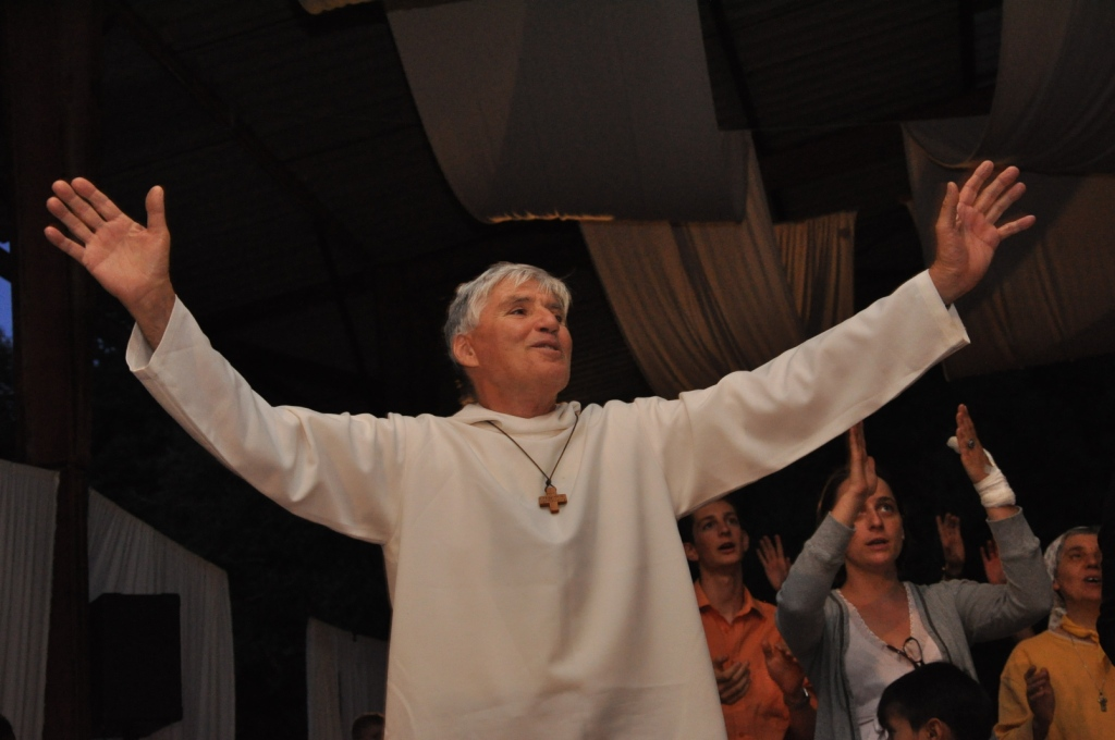 Pr. Daniel-Ange, în vizită la Blaj