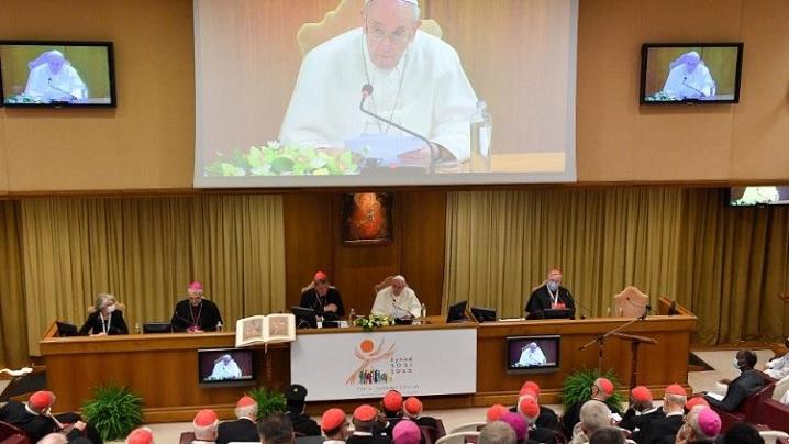 Papa Francisc: Sinodul, un adevărat timp al harului, nu un sondaj de opinie