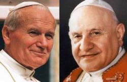 Sfinţii Ioan XXIII şi Ioan Paul II, sărbătoriţi pe 11 octombrie, respectiv 22 octombrie
