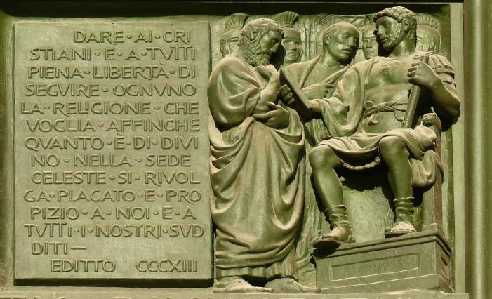 Edictul de la Milano din 313 (Prima parte)