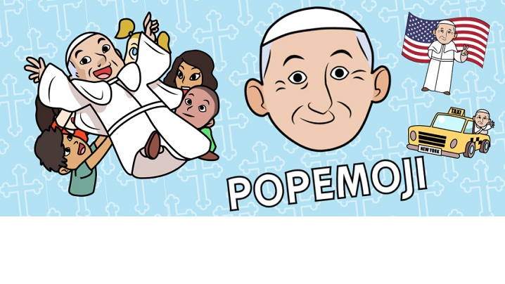 Emoticoane cu Papa Francisc
