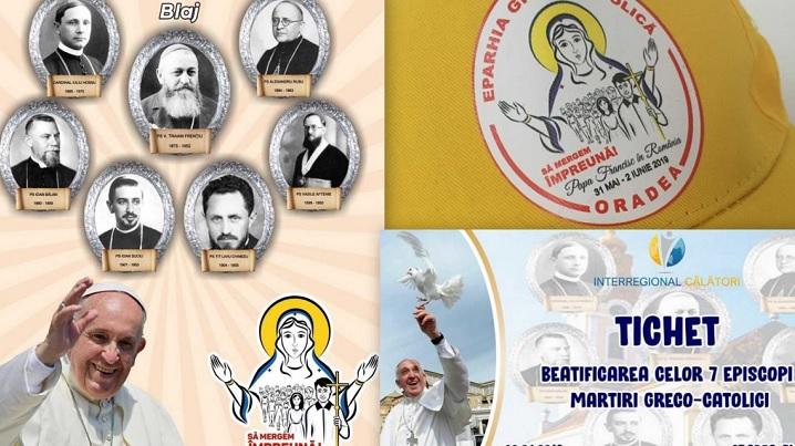 Credincioșii Eparhiei de Oradea, merg împreună cu Papa Francisc la Blaj
