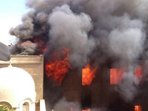Sediul episcopiei catolice din Mosul a fost incendiat de către islamiști