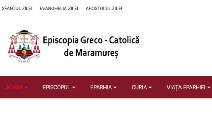 A fost lansat site-ul Episcopiei greco-catolice de Maramureș