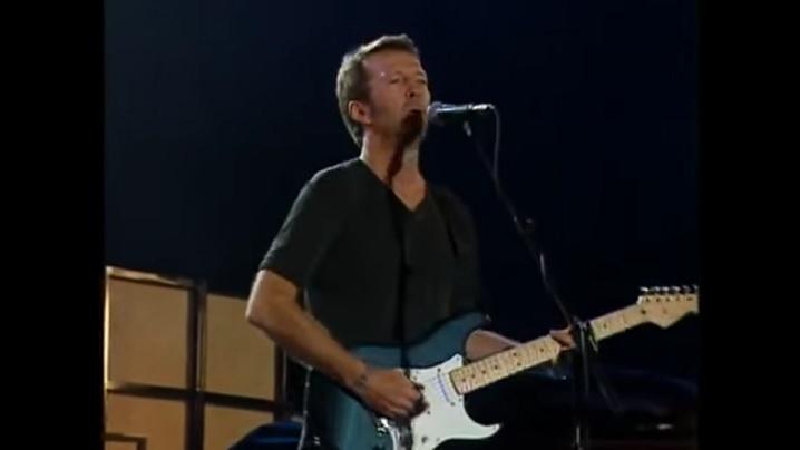 Eric Clapton cântă Fecioarei Maria