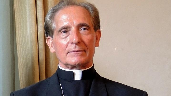 """Nunțiul Francisco-Javier Lozano, decorat cu """"Serviciul Credincios"""""""