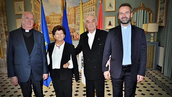 FOTO: Ambasada României pe lângă Sfântul Scaun a sărbătorit Ziua Națională a României
