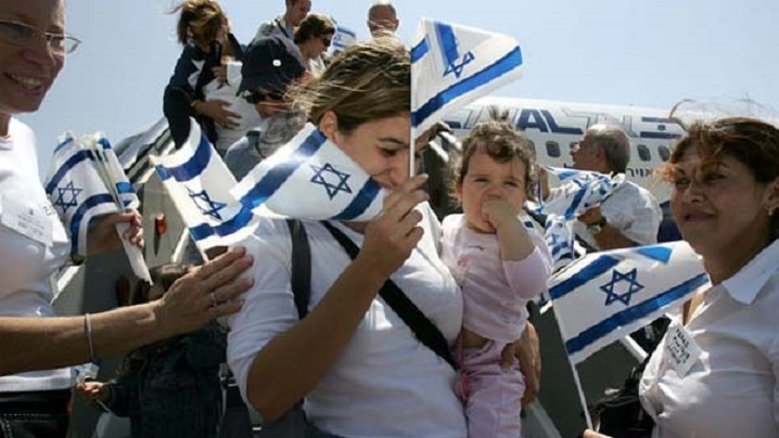 """Exodul evreilor francezi spre """"Pământul Făgăduinței"""""""