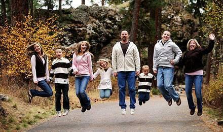 Familia este inima dezvoltării umane