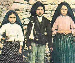 13 septembrie 1917: a V-a apariţie de la  Fatima