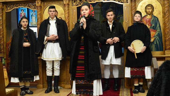 FOTO: Concert de colinde în parohia Feldru-Valea Secerului