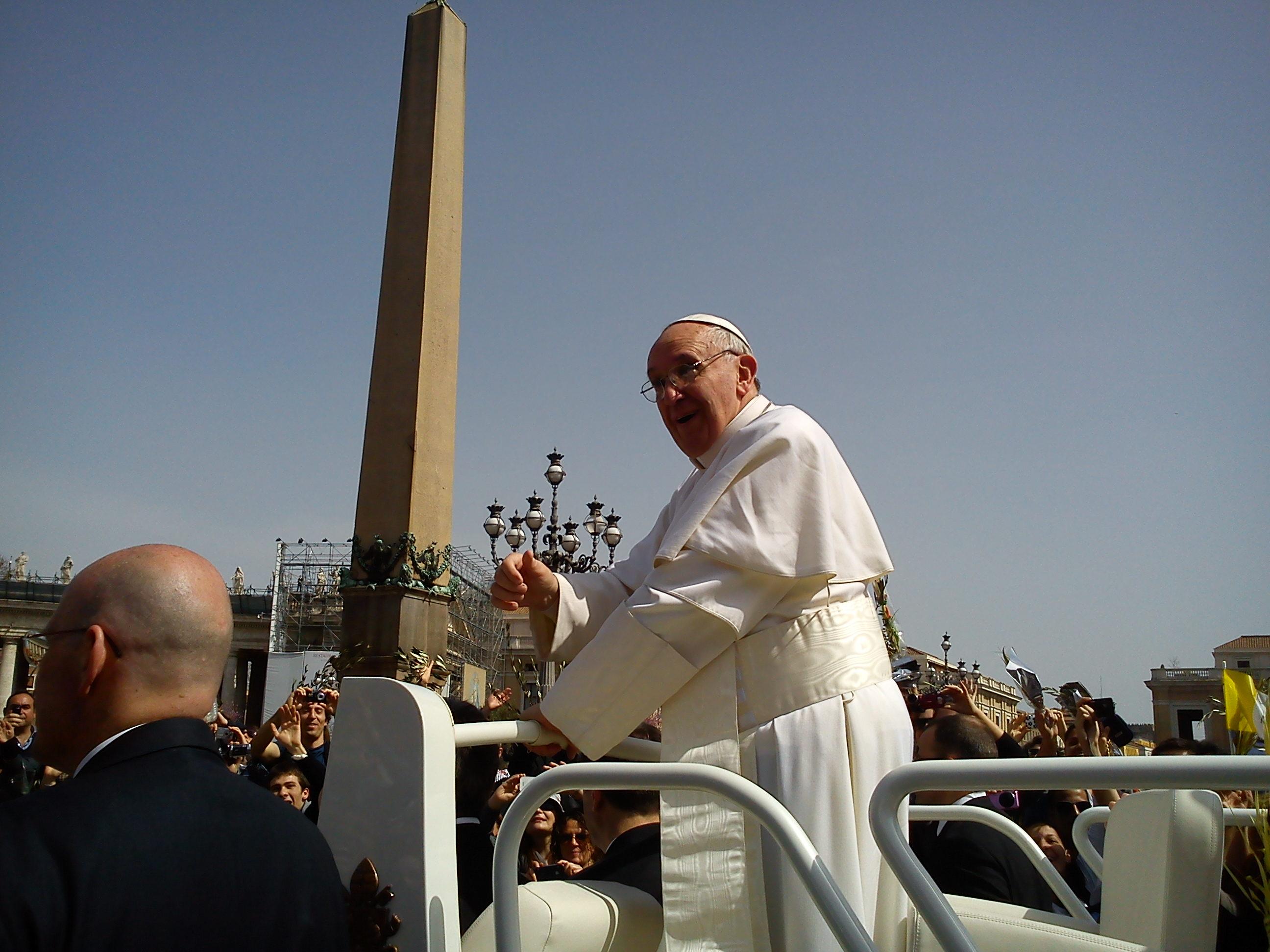 Duminica Floriilor la Vatican