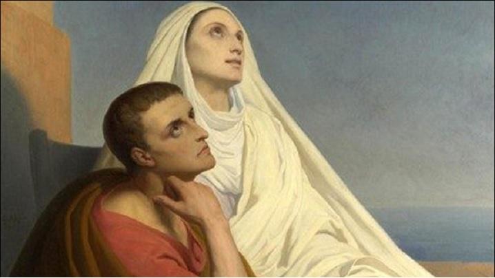 La şcoala inimii. Monica şi Augustin discipoli ai Învăţătorului interior