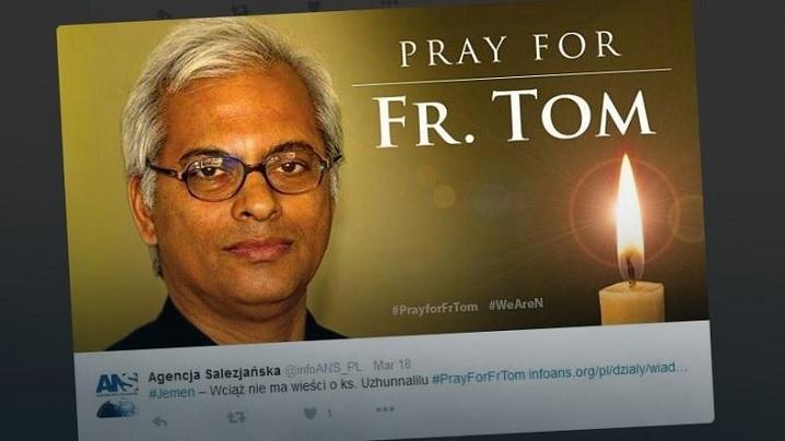 Papa a făcut un apel stăruitor pentru eliberarea preotului răpit în Yemen